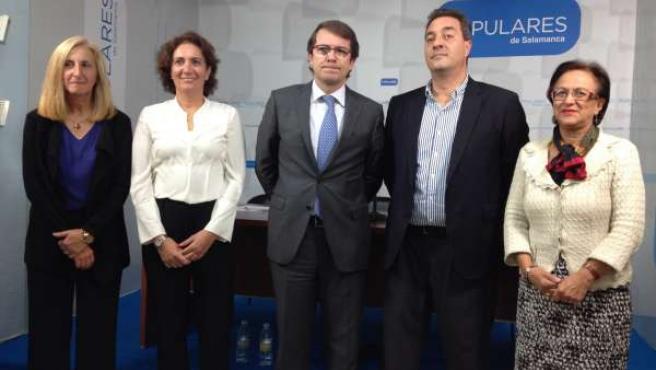 Procuradores del PP por Salamanca