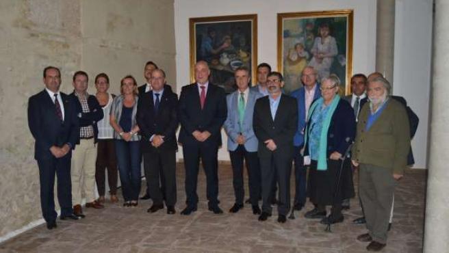 Inauguración de la muestra 'Morada del Arte' en Lucena