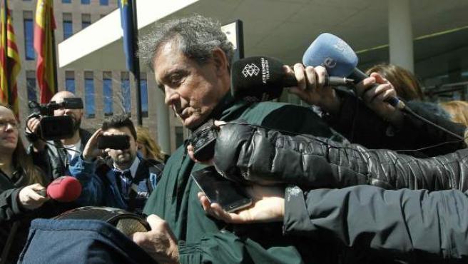El primogénito del expresidente de la Generalitat, Jordi Pujol Ferrusola, abandona la Ciudad de la Justicia.