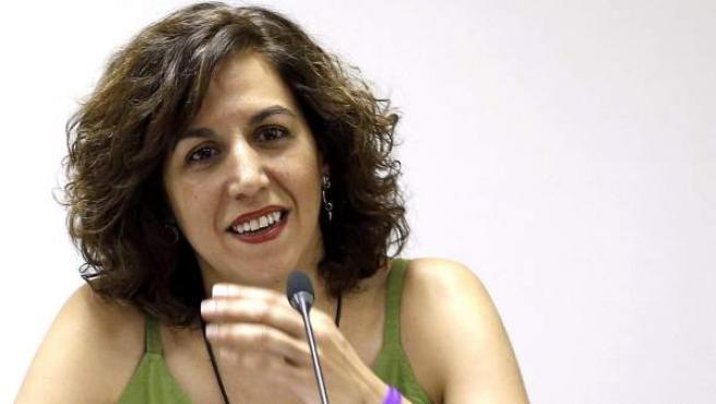 Fotografía de archivo de julio de 2015 de la exdiputada de UPyD Irene Lozano, que se incorporará a las listas del PSOE.