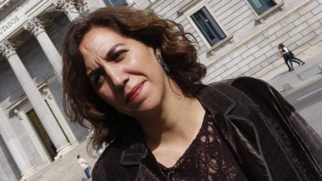 La exdiputada de UPyD Irene Lozano, que ha aceptado la propuesta de integrarse en las listas del PSOE a las generales.