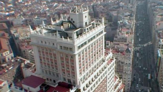 Imagen del documental 'Edificio España', de Víctor Moreno.
