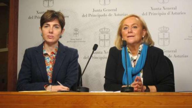Emma Ramos y Mercedes Fernández.