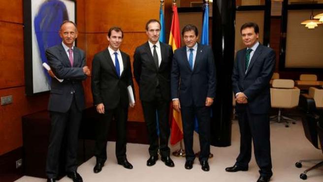 Reunión de EDP con el Gobierno del Principado de Asturias