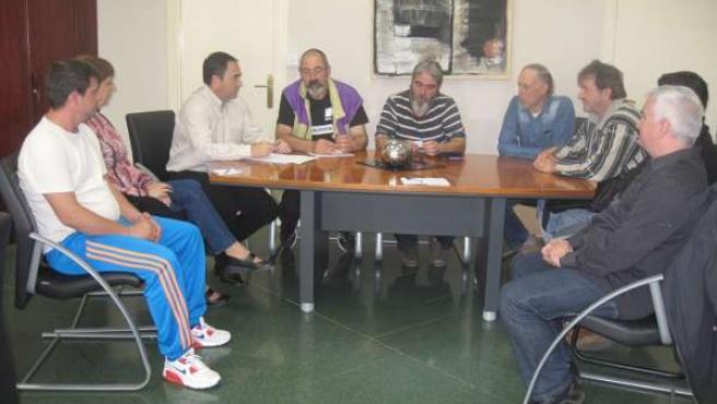 Reunión con la asociación de vecinos Passo