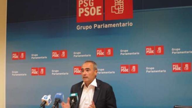 Santín (PSdeG) en Santiago