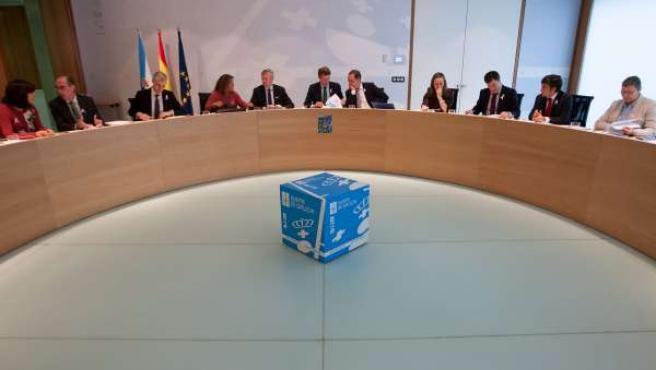 Aprobación de los presupuestos de 2016 en Consello