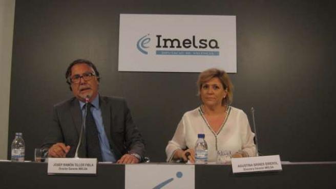 Los nuevos gerentes de Imelsa, Josep Ramón Tiller y Agustina Brines