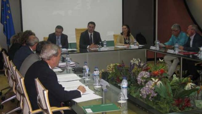 Reunión de la Mesa del Turismo.