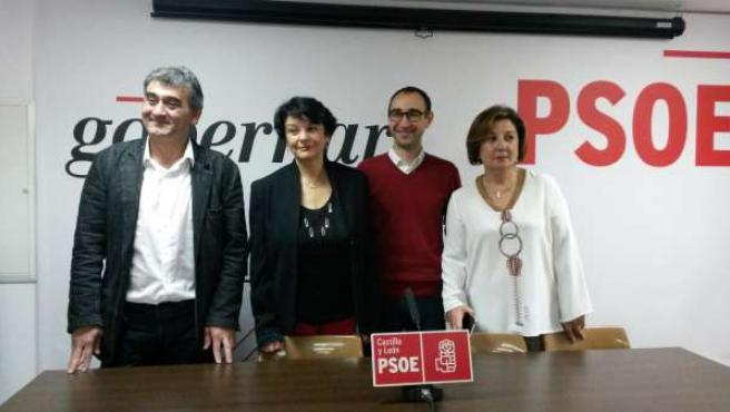 Los candidatos del PSOE por Salamanca al Congreso y Senado
