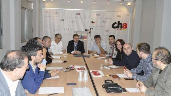 El Consello Nazional de CHA apoya la confluencia en Ahora Aragón en Común.