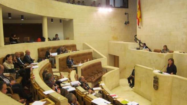 Pleno del Parlamento de Cantabria. Legislatura (2015-2019)