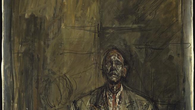 Retrato del escritor francés Jean Genet pintado por Alberto Giacometti
