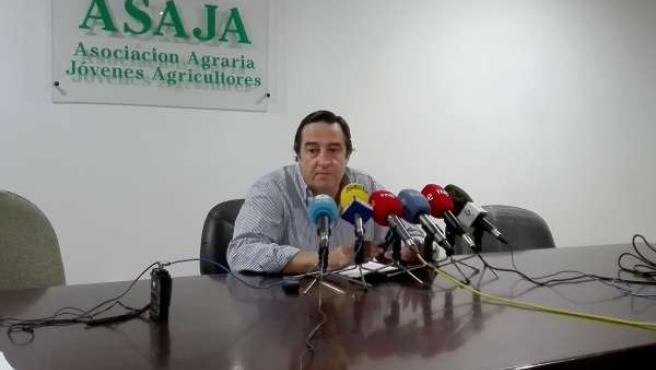 Ángel Blanco, presidente de Asaja Extremadura