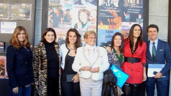 Las Premiadas Con El Galardón 'Mujer'