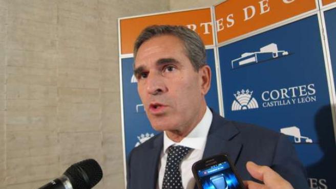 El procurador del PP Juan José Sanz Vitorio