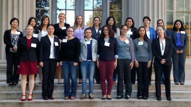 Participantes en el Rising Stars del MIT