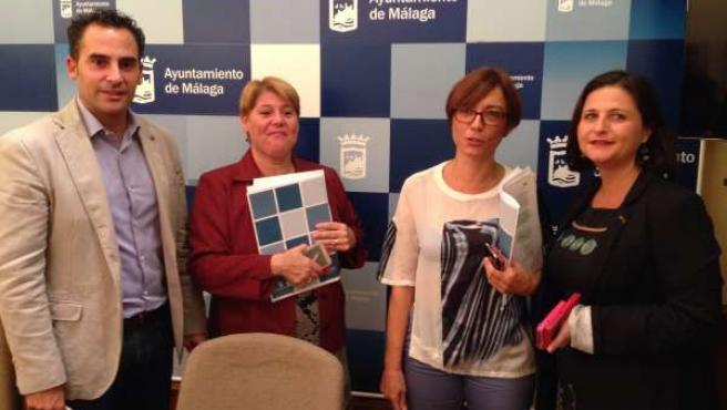 Portavoz socialista Málaga, María Gámez