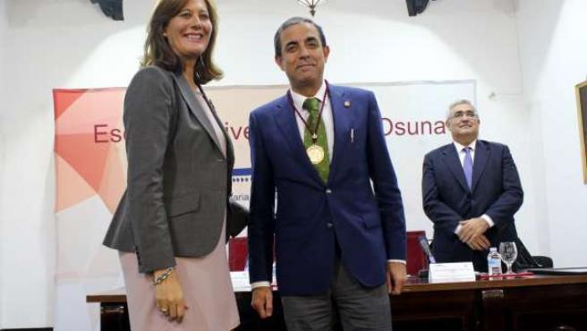 Rosario Andújar, Miguel Ángel Castro y Antonio Ramírez de Arellano