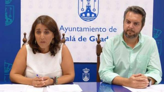 Concejales del PA en el Ayuntamiento de Alcalá de Guadaíra