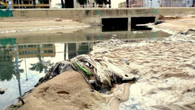 Ecologistasen Acción alerta de vertidos en Sanlúcar