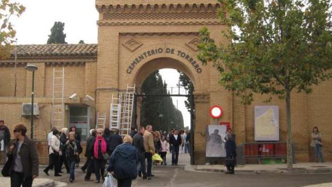 Cementerio de Torrero en Zaragoza