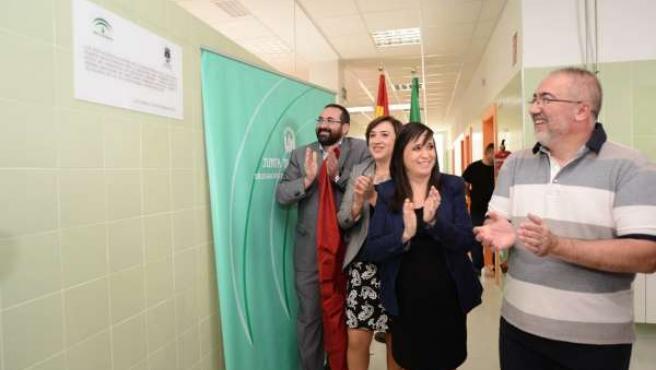Inauguración del nuevo centro de Infantil en Las Gabias.