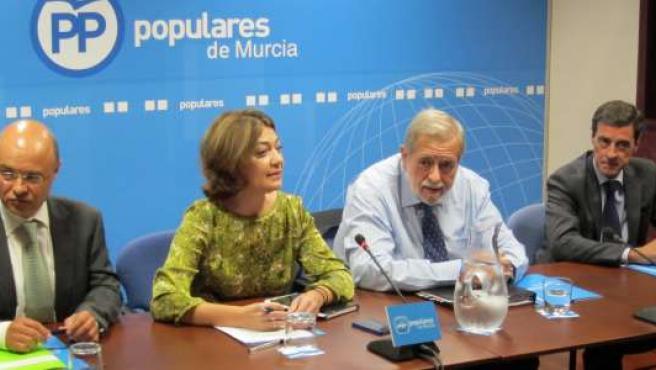 Beteta, preside el encuentro con concejales de Economía y Hacienda en la Región