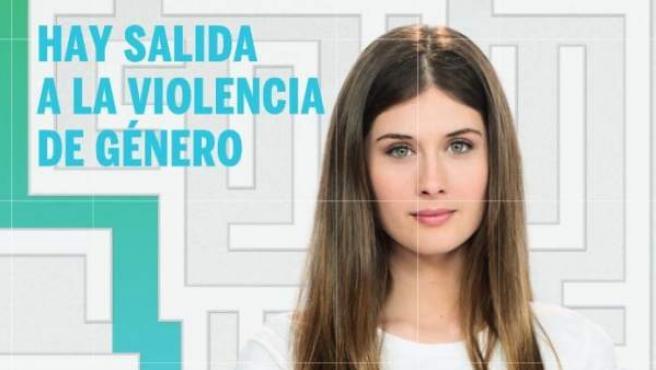 Cartel de una campaña contra la violencia machista.