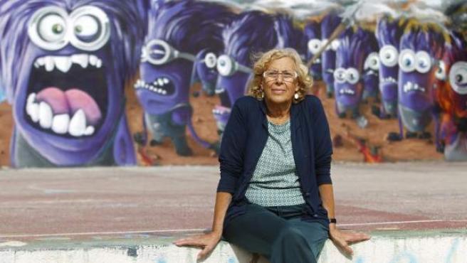La alcadesa de Madrid, Manuela Carmena.
