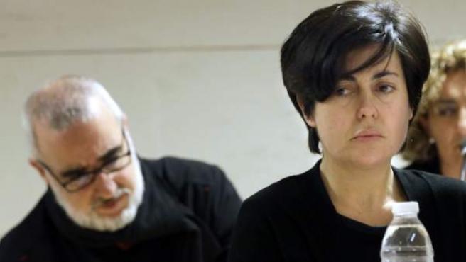 Rosario Porto, principal acusada junto a su ex marido Alfonso Basterra de la muerte de su hija Asunta Basterra.
