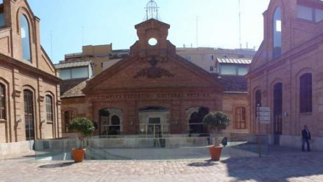 Sede de la Fundación Deportiva Municipal de Valencia, ubicada en el Complejo Deportivo-Cultural de La Petxina.