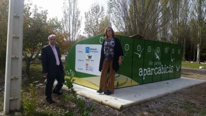 Nuevo sistema de taquillas para bicis en Herrera