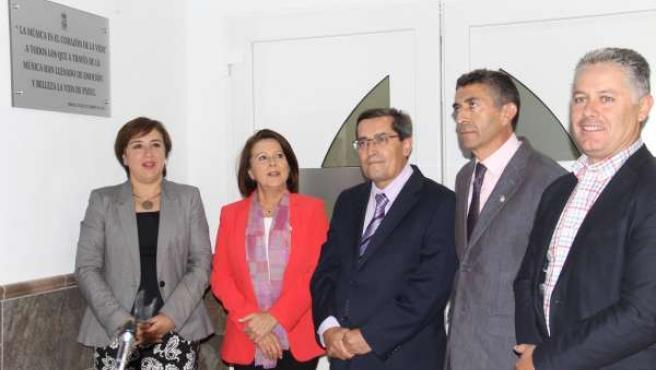 Inauguración de escuela de música en Padul (Granada)