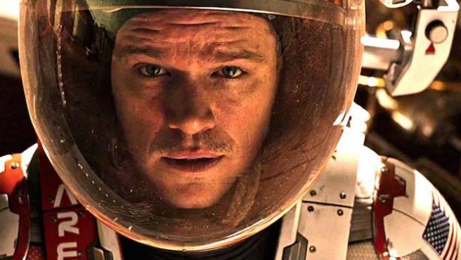 Nadie puede contra el marciano Matt Damon