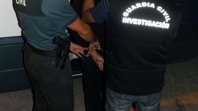 Imagen del detenido por los atracos