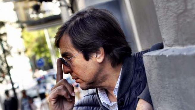 Manolo Tena, antes de la entrevista con '20minutos'