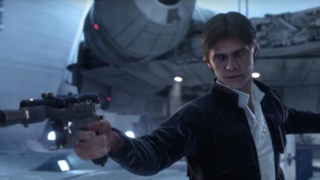 Han Solo contra Darth Vader en el tráiler de 'Star Wars: Battlefront'