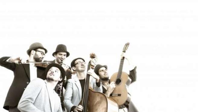 El grupo de folk Melech Mechaya