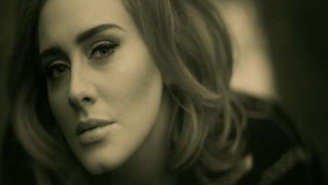 Imagen del nuevo single de Adele después de cuatro años sin nuevas canciones.