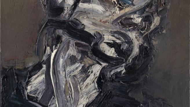 Auerbach emplea en todos sus lienzos la técnica del empasto