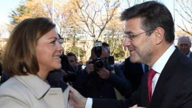 Cospedal y Catalá, en una imagen de archivo.