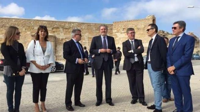 El ministro de Educación, Íñigo Méndez de Vigo, en Melilla