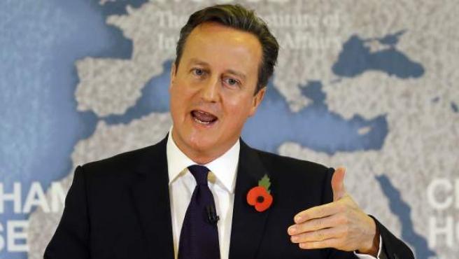 Discurso de David Cameron en el Real Instituto de Relaciones Internacionales de Londres.