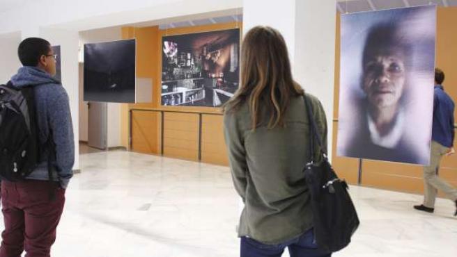 Exposición Violencia Manifiesta, en la Biblioteca de la UPO