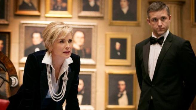 Agente X: la patriota Sharon Stone y su espía a lo James Bond