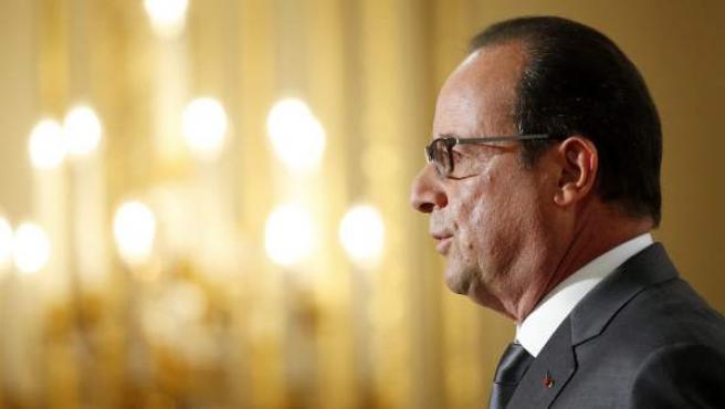 El presidente de Francia Francois Hollande.