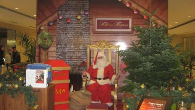 Papá Noel llega a La Vaguada
