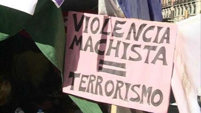 Huelga de hambre en contra de la violencia de género