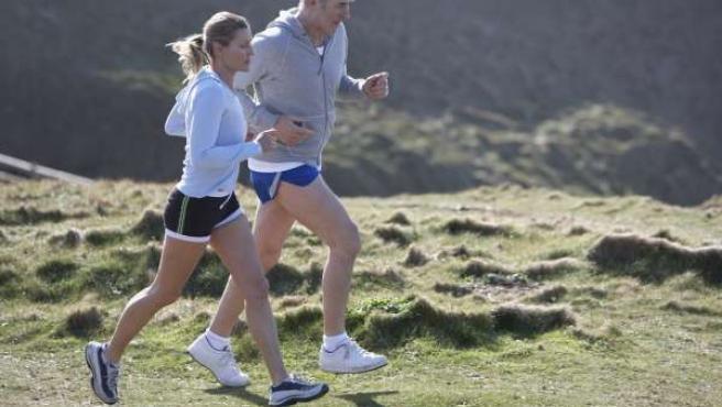 Uso de lentillas deporte running